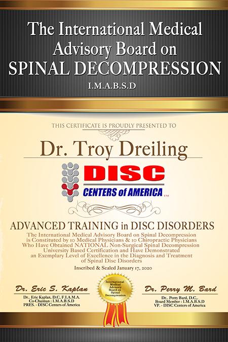 dr-troy-dreiling-spinal-decompression-certification